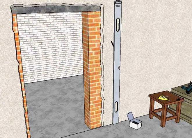 Как уменьшить дверной проем по высоте: рабочие варианты