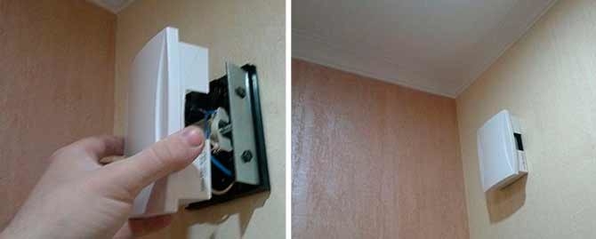 Установка звонка в частном доме