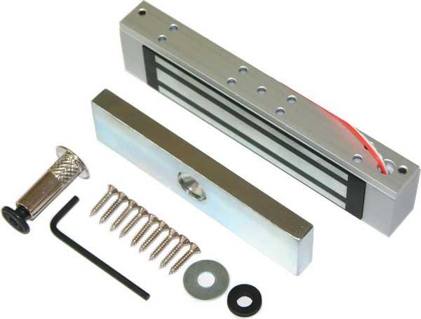 Как установить магнитный замок на дверь