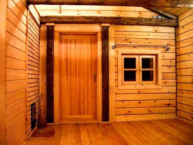 Двери для бани деревянные своими руками
