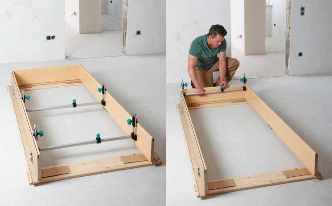Как сделать дверной блок